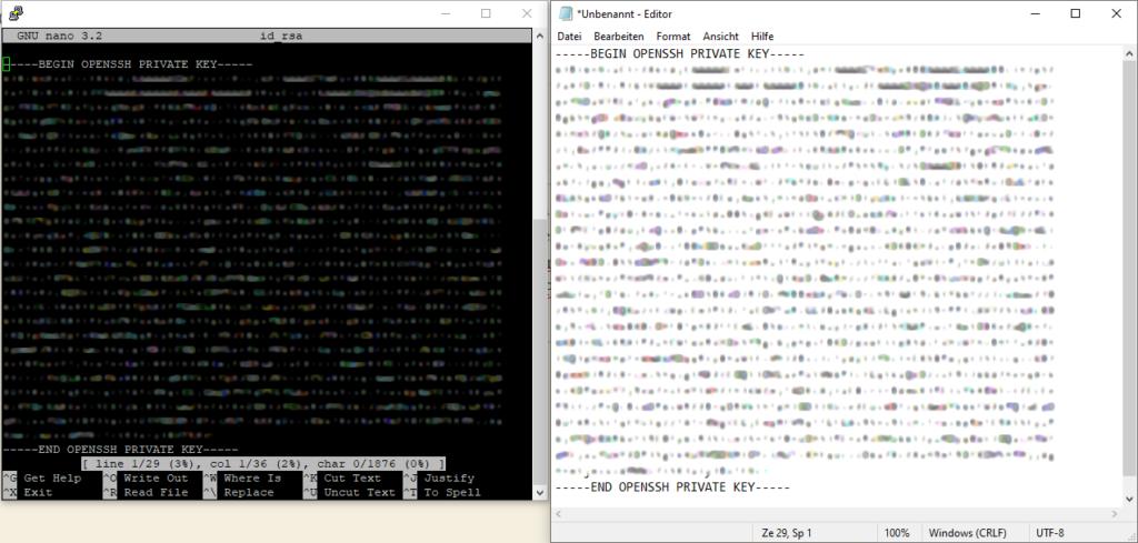 Debian 10 Buster installieren mit SSH Schutz