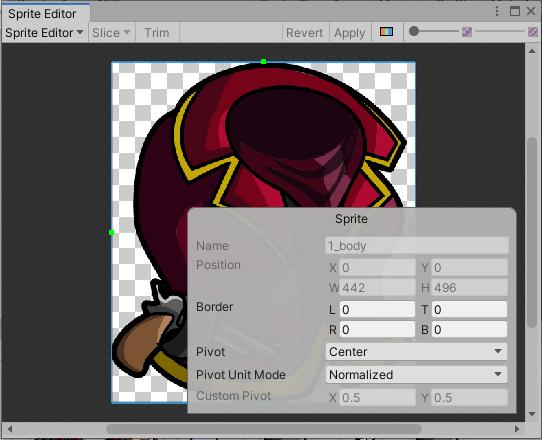 Unity Sprite Editor